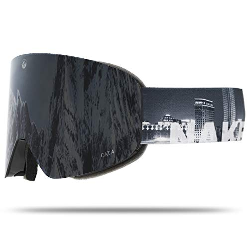 NAKED Optics Troop EVO City (Black Lens), inkl. Schlechtwetterglas