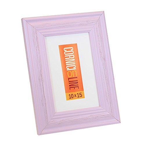 Cornice in legno 304 Lilla Portafoto da Tavolo 10x15