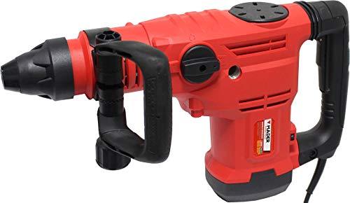 Mader Power Tools 63131 Taladro Martillo 1600W 50 mm, Sistema SDS MAX, Velocidad Variable, 3 Funciones