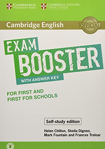 Cambridge English Booster with Answer Key for First and First for Schools - Self-study Edition: Photocopiable Exam Resources for Teachers