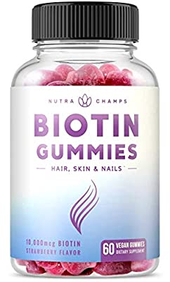 Biotin Gummies 10,000mcg Parent ASIN