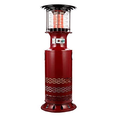 CHARON Estufa De Terraza, Calentador De Gas para El Hogar Y El Uso Comercial, Gas JardíN Calefactores De Patio para Calentamiento De Agua Y CalefaccióN