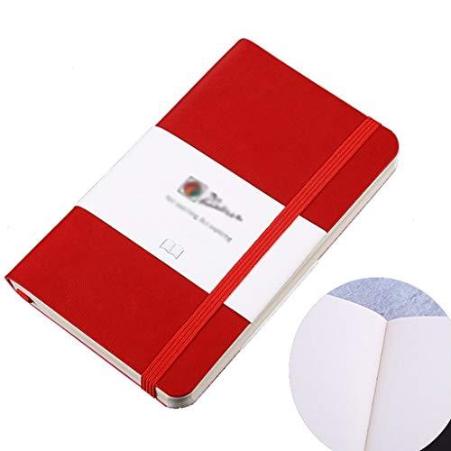 Cuadernos de Diario en Blanco de Papel Rayado Plan Redacción de reuniones Libro de Cuero for Empresas Conjunto de Regalo Creativo Suministros de Oficina Engrosamiento del Trabajo Estudiante Simple de