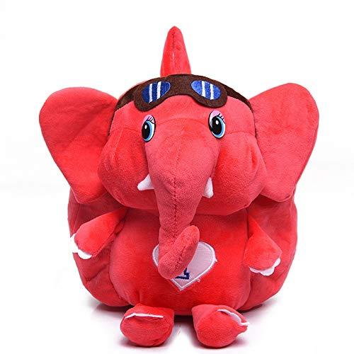Appiu Backpack 1-3 Year Old Kindergarten Elephant School Bag Backpack Cartoon Men And Women Travel Backpack (Color : 4)