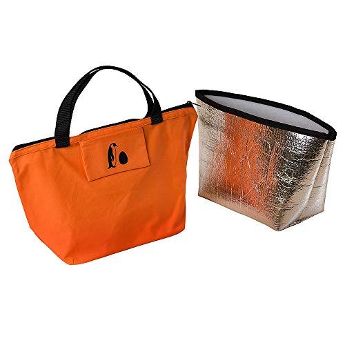 YCCT Tragetasche und Isoliertasche – Pinguin, Orange (Orange), f