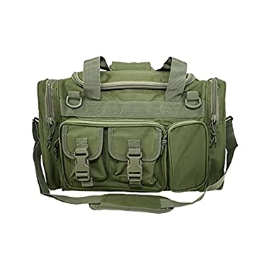 Osage River Tactical Duffel Bag Duffel Bag for Traveling, Camping, in the field and at the Gym. (OD Green Tactical Duffel Bag, 18 in. L x 12 in. W x 11 in. H)