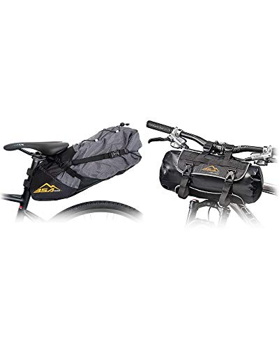 BSA Gear Bikepacking Kit Borsa Sottosella Gravel Bag WP + Borsa Manubrio Handlebar Pack