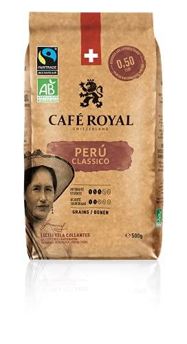 Café Royal Peru Bio Fairtrade Classico Café en grains 0.50 kg