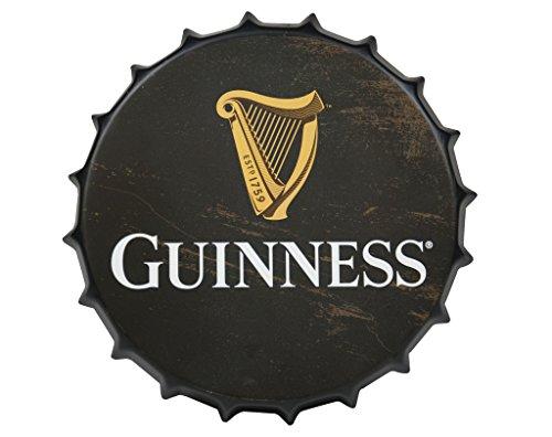 Guinness Vintage Botella de Aluminio Cap–Señal de Metal decoración de la Pared