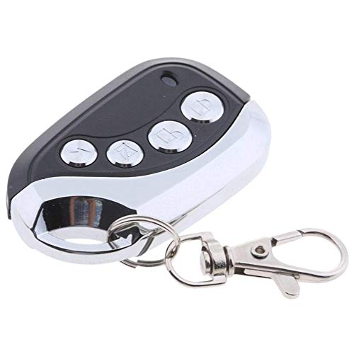 LNIEGE - Mando a distancia universal para puerta de garaje, 4 botones, 433 MHz