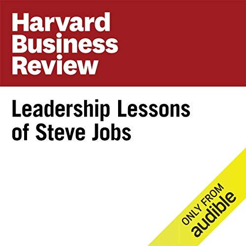 Couverture de Leadership Lessons of Steve Jobs