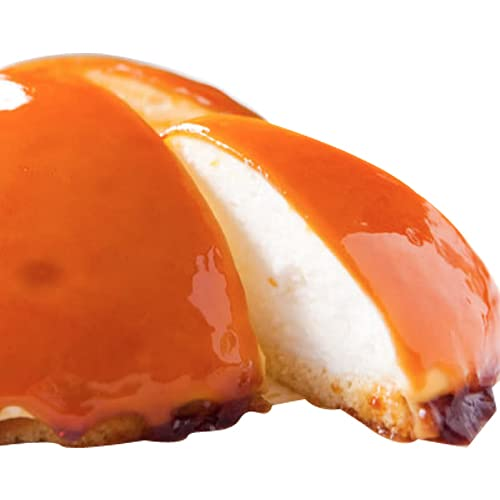 どんど焼本舗 チーズプリンケーキ (直径12cm×高さ6cm) レアチーズケーキ キャラメル お取り寄せスイーツ 冷凍便