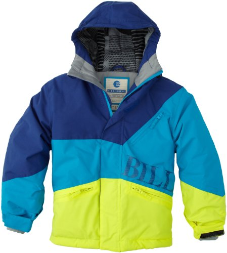 BILLABONG Jungen Snowboardjacke Buddy, Bubble Blue, 12, N6JB03