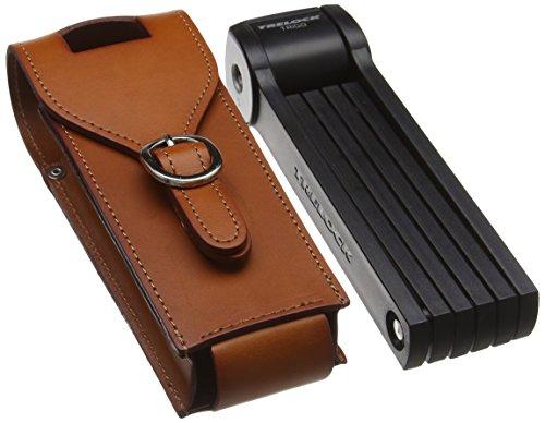 Trelock Faltschloss FS 300/85 Manufaktur, schwarz, 85x10x10cm
