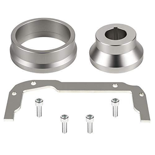 TeddyTT 3pcs Front Rear Cover Alignment Tool & Oil Pan Alignment Tool Kit Fits for LS Series Engines 4.8 5.3 5.7 6.0 6.2 LS1 LS2 LS3 LS4 LS6 L99 LS9 LSA LQ4