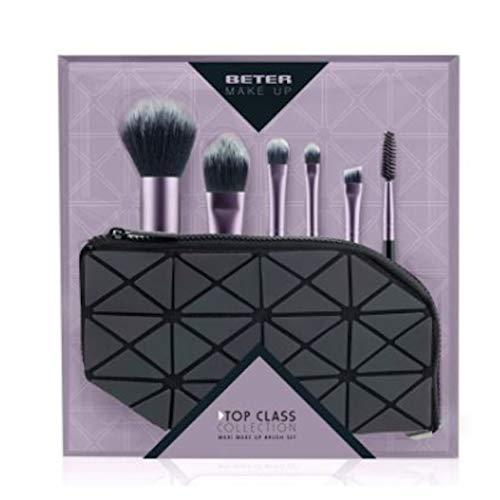 Beter Maquillage Trousse 2 Pinceaux et 3 Pinceaux et 1 Goupillon Rose 1 Unité 300 g
