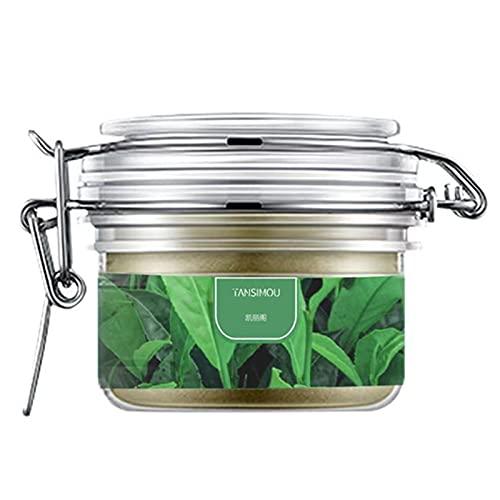 120ml Sekkisei Green Tea Face Mud Masque Peeling & Hydrating Facial Clay Pack, Tear Deep Cleansing Mask
