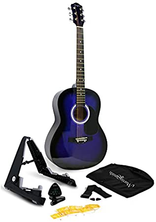 """38/"""" Large Wooden Acoustic Guitar Classic Musical Instrument Student Adult Gift"""
