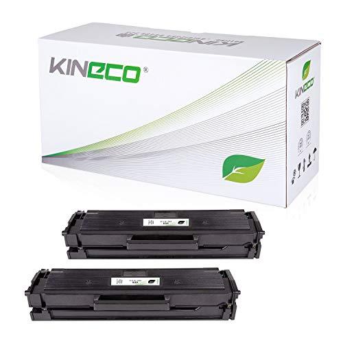 Kineco 2 Toner mit CHIP kompatibel mit W1106A 106A für HP Laser 107a 107 107w MFP 130 135a 135ag 135w 135wg 137fnw 137fwg 138fnw 138fw 138p 138pn 138pnw