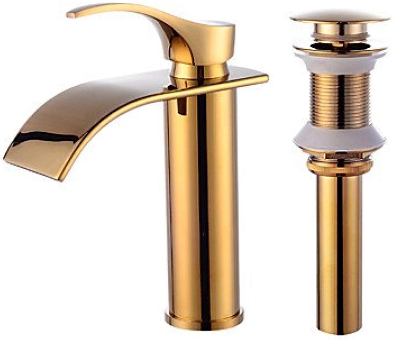 GFFXIXI Contemporary Centerset Ceramic Valve Faucet Set