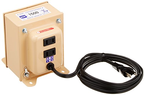 NISSYO industrial transformer NDF series (voltage down) 120V 100V1500W NDF-1500U (japan import)