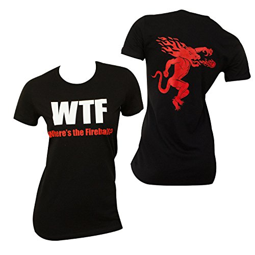 Fireball Whiskey Feuerkugel Wtf Babydoll Damen-T-Shirt Kleine