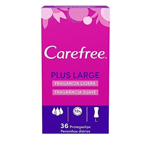 CAREFREE protege slips plus large caja 36 uds