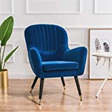 KORANGE Sillones De Salón Sillon Individual Sillon De Lectura Sillon Salon Sillon Relax Silla Relax Butacas para Dormitorio (Color : Blue)