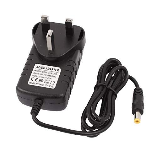 Aexit 100-240V bis 12V 2A AC / DC-Netzteiladapterkabel Ladegerät 5,5x2,1mm UK (2d7ee7fee0c550ca640d741d1ea52487)