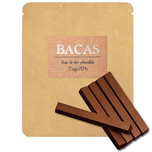 BACAS(バカス)『トーゴ70%/スティックタイプ5本ビーントゥバーチョコレート』