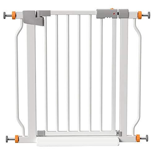LLA Pet Gate Safety Mate Baby Gate, barrière de sécurité Robuste à Fixation Murale pour couloirs, escaliers ou Utilisation extérieure, pour Ouvertures de 32.6 \