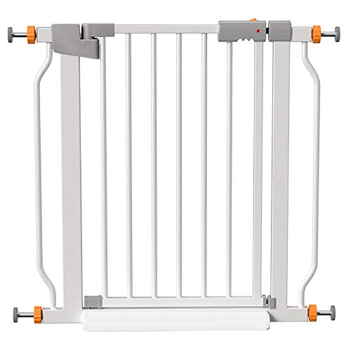 Gate bar Safety Mate Baby Gate, Sturdy Wall Mountable Safety Gate for Hallways, Stairs, or Outdoor Use, Fits Openings from 32.6' to 35.4' (Size : 146-153CM)