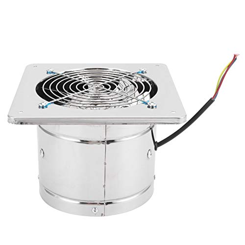 Ventilador extractor, 1200 g de ventilación, robusto, duradero, estable, confiable, extractor de aire para baño, 40 W 220 V para baño doméstico