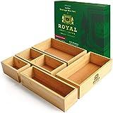 Luxury Bamboo Drawer Organizer...