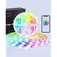 2-Pack Techvilla 16.4-Ft. Smart LED Strip Lights