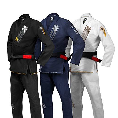 Hayabusa Ascend Lightweight Adult Jiu Jitsu BJJ Gi - Black, A2