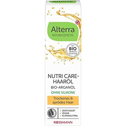 Alterra Haaröl Bio-Aprikosenkernöl,für trockenes & spödes Haar, 50 ml