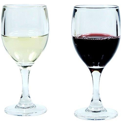 mikken Weinglas, Polykarbonat, Klar, 2er Set