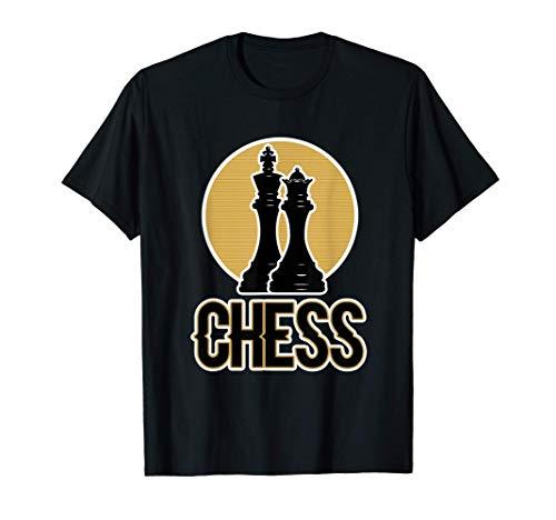 男性と女性のためのチェスのデザイン - チェス Tシャツ