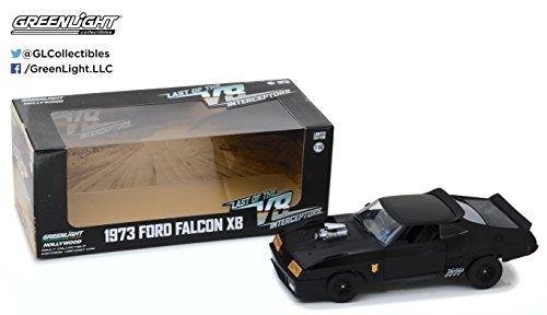 Greenlight 1:18 Last of The V8 Interceptors (1979) -1973 Ford Falcon XB Druckguss-Fahrzeug, schwarz