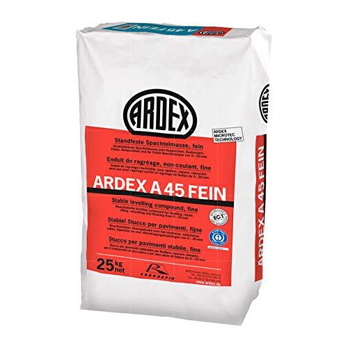 ARDEX A 45 FEIN STANDFESTE SPACHTELMASSE - 25 KG