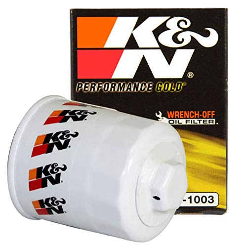 K&N Premium Oil Filter: Protects your Engine: Compatible with Select TOYOTA/LEXUS/SUZUKI/CHEVROLET Vehicle Models (See Product Description for Full List of Compatible Vehicles), HP-1003