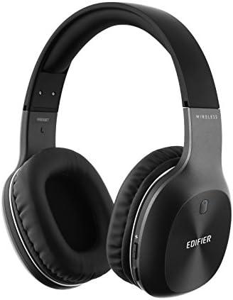 Edifier W800BT Bluetooth Headphones - Over-The-Ear Wireless Headphone, 50 Hours Long Playback, Lightweight - Black