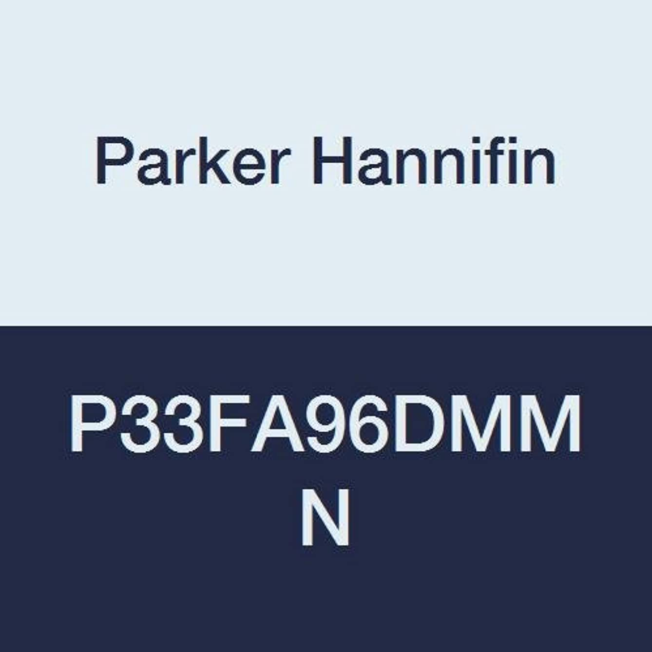 Parker Hannifin P33FA96DMMN Series P33F Aluminum Standard Coalescing and Adsorber Filter, 0.01 μ Element with DPI, Metal Bowl without Sight Gauge, Manual Drain, No Mounting Bracket, 3/4