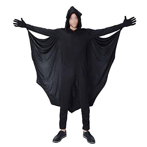 Meijunter Halloween Costumi - Bambino Adulto Accogliente pipistrello tuta Ragazze Ragazzi Donne Uomini Famiglia Vampiro Cosplay Costume Festa