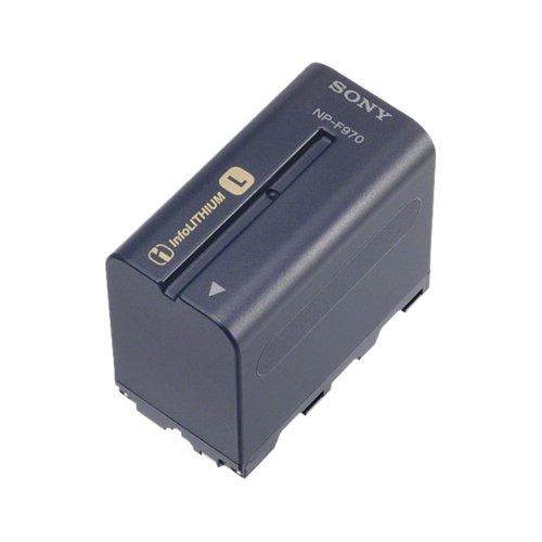 Sony NPF970 - Batería para videocámara para Sony HDR-FX1000E (6600 mAh, InfoLITHIUM), Negro