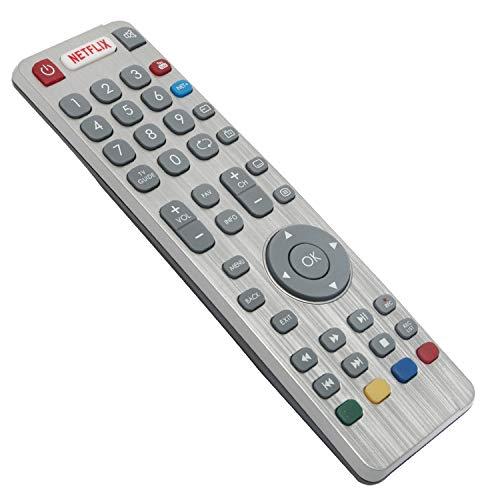 ALLIMITY DR0337 Reemplazo de Mando a Distancia para Sharp Aquos 3D TV LC-32CFG6451K LC-32CHG6022K LC-55CFG6021E LC-55CFG6351K...