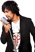 Posterpot Singer Sonu Nigam (Canvas Media Print, 36 X 24 Inches, Rolled, Multicolour) S90