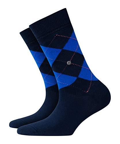 BURLINGTON Damen Socken Neon Queen - Baumwollmischung, 1 Paar, Blau (Marine 6121), Größe: 36-41