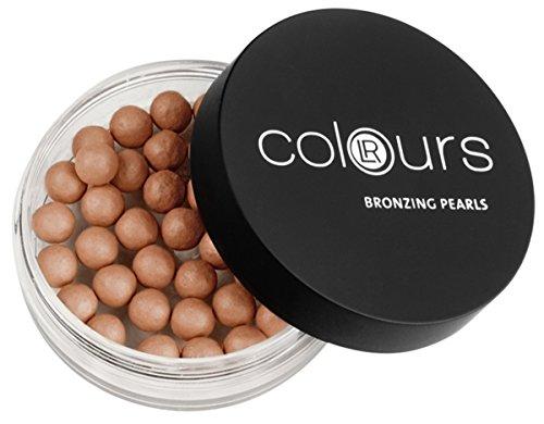 1a LR COLOURS Gesicht Bronzefarbene Puderperlen 18g 10068